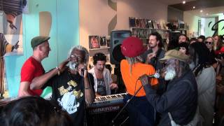 The Congos Live @ Northside Records: 'Open the Gate' & 'Beetles Come' (HD)