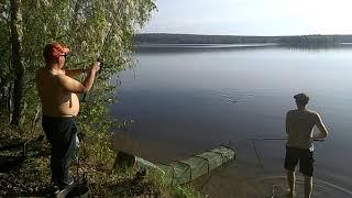 22 05 2021 г Волчихинское водохранилище Открываем сезон рыбалки на фидер