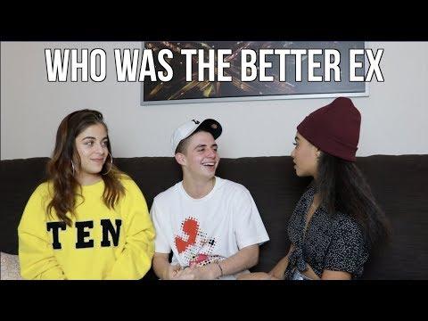 WHO WAS THE BETTER EX w/ Baby Ariel & Daniella Perkins