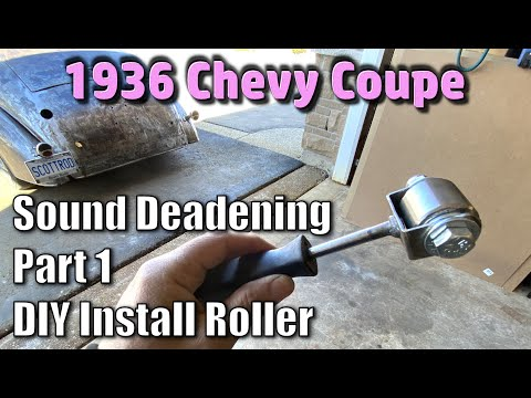 1936 Chevy Coupe Sound Deadening Part 1 – DIY Install Tool