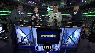 Cavaliers vs Celtics Game 1 Pregame Show Eastern Conference Finals | Inside The NBA | May 17, 2017