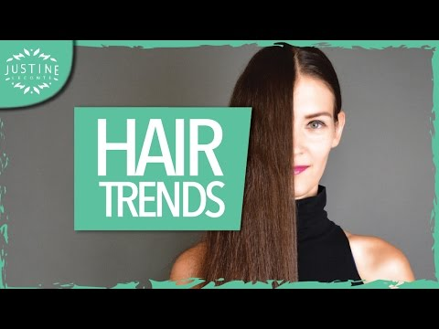 Hair trends 2017: haircuts, hair colors, hair styling | Justine Leconte