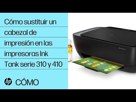Cómo sustituir un cabezal de impresión en las impresoras Ink Tank serie 310 y 410 | HP Printers | HP