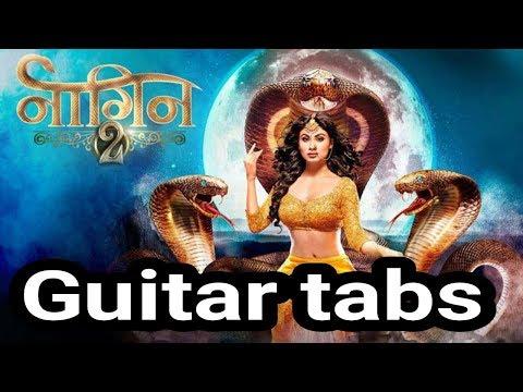 nagin tune guitar tabs single string || easy tabs 2018