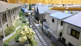 鉄道コレクション「岳南電車ED40形(ED402)」と、トミックス「ワム8000...