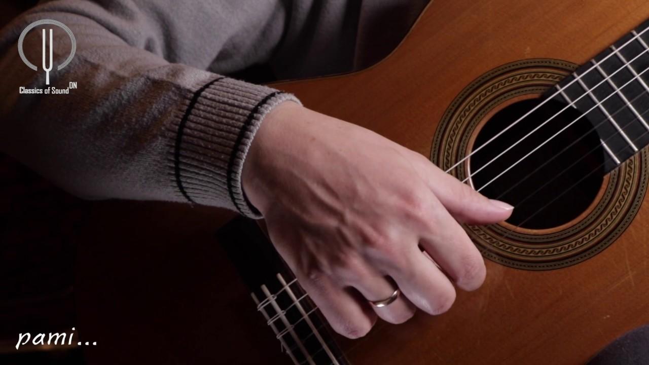 Техника игры на классической гитаре. Тремоло. [Дмитрий Нилов]
