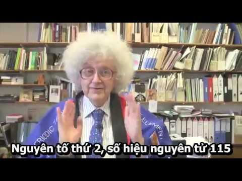 Những nguyên tố mới đã được đặt tên – Periodic Videos VIETSUB