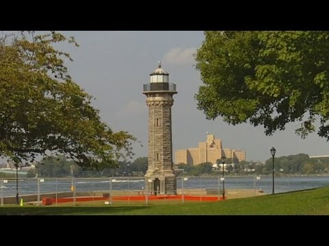 Lighthouse Park On Roosevelt Island In New York City