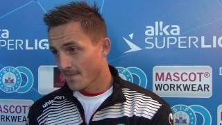 Emil Lyng interviewes f�r kick-off mod FCN