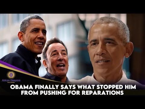 Obama Finally Says What Stopped Him From Pushing For Reparations