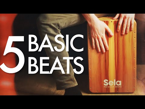 5 Basic Cajon Beats You Can Learn Today - 동영상