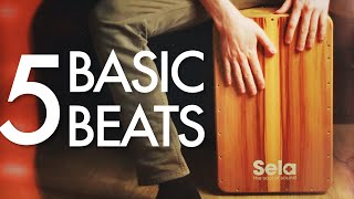 5 Basic Cajon Beąts You Can Learn Today