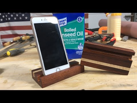Simple Wood Phone Stand/Mount