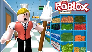 ESCAPE THE SUPERMARKET! | Roblox