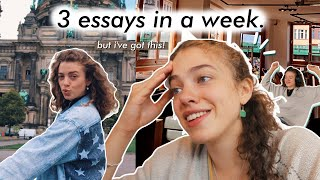 honestly, uni is stressful: how i navigate a week of assignments and classes!