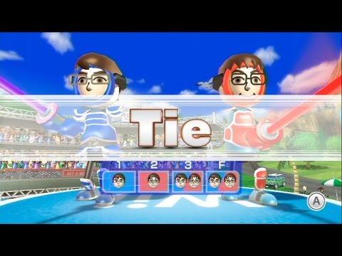 Getting a Tie in Swordplay - Wii Sports Resort