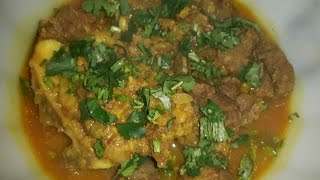 How to make Moong dal with Beef Bangla style cooking