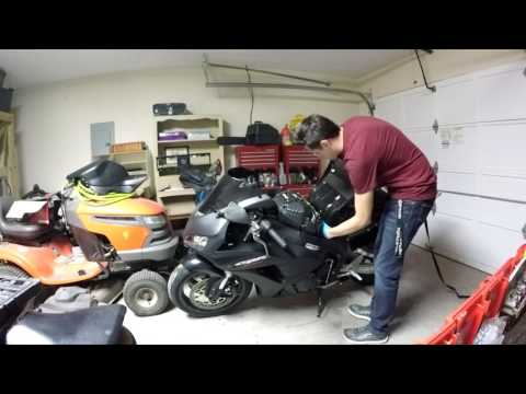 2006 CBR1000RR Fuel Pump Change