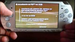 Actualización firmware 6.35 para PSP