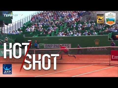 Hot Shot: Goffin Produces Magic At Net In Monte-Carlo 2018