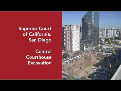 Sharma General Engineering Contractors - San Diego Courthouse Excavation