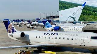 Inaugural Flight – United Express – Bombardier CRJ-200ER – ORD-JLN – N910EV – UA5192 – IFS Ep. 420