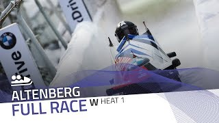 Altenberg | BMW IBSF World Cup 2018/2019 - Women's Bobsleigh Heat 1 | IBSF Official
