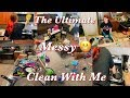EXTREMELY MESSY CLEAN WITH ME//ENTIRE SMALL APARTMENT//CLEANING MOTIVATION//Stephanie McQueen