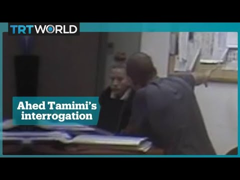 Ahed Tamimi's interrogation video released