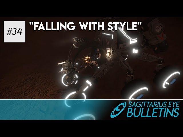 Sagittarius Eye Bulletin - Falling With Style