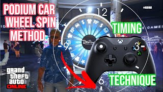 Timing and Technique Method to WIN Podium Car in GTA Online on the Lucky Wheel