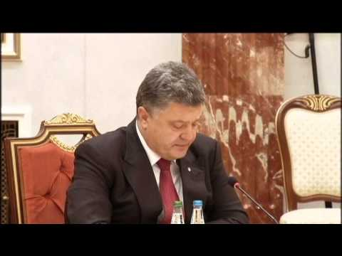 Poroshenko meets Putin in Minsk: EU and Eurasian Union leaders gather in Belarus