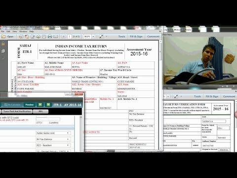 HOW TO FILE REVISED INCOME TAX RETURN  | AY 2015 16?