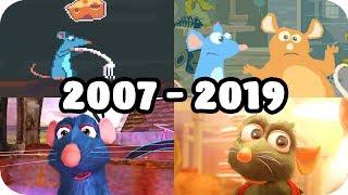 Evolution of Ratatouille in Video Games (2007 - 2019)