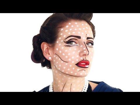 Pop Art Halloween Makeup Tutorial thumbnail
