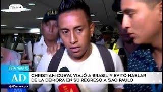 Cueva regresó a Brasil con 6 días de retraso entrenamientos del Sao Paulo | Rueda nuevo DT de Chile thumbnail