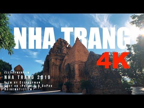 [4K] iPhoneX Cinematic - Nha Trang, 2019 아이폰X 시네마틱 나트랑 여행 영상