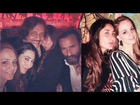 Karisma Kapoor , Kareena Kapoor Khan and Saif Ali Khan enjoying party in London ! Mp3