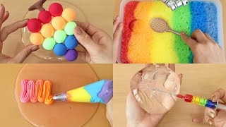Slime Coloring Compilation!! Most Satisfying Slime Video★ASMR★#ASMR
