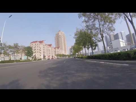 Driving through Tianjin Binhai New Area, China  (October.2017)