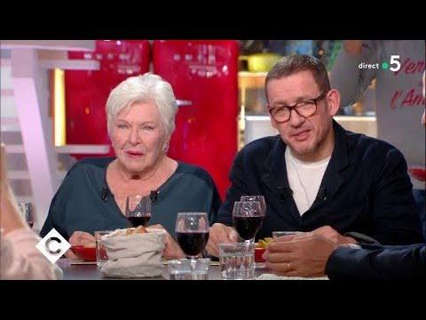 """Dîner """"spécial ch'ti"""" avec Dany Boon et Line Renaud - C à Vous - 26/02/2018"""