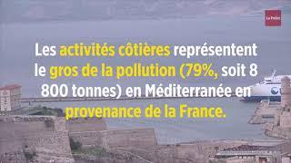 La France est le plus gros producteur de déchets plastiques en Méditerranée
