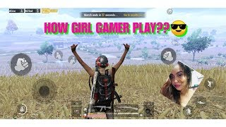 PubgMobile Girl Gamer | How does GIRL GAMER troll her friends?