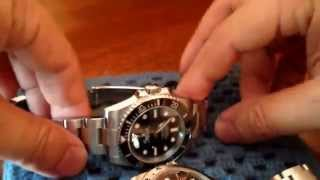 ROLEX explorer II vs submariner