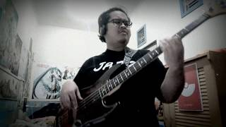 Red Car Chase - BRADIO (Bass Cover) Lots of mistakes, sorry. Not an...