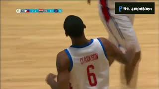 Jersey ni Jordan Clarkson inarbor ng kalaban, JCs full highlights and stats VS Syria