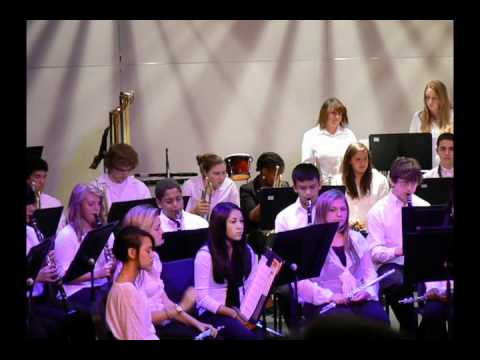 "Oak Harbor High school, Concert Band, ""Crystal City Overture"""