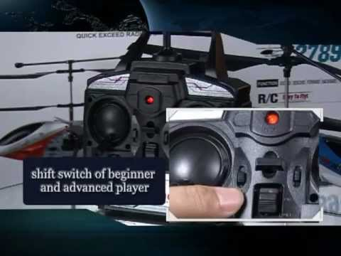 Rc Coaxial Helicopter Model Training Video And Instructions Youtube