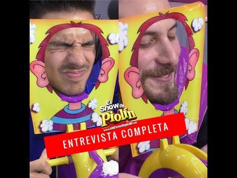 Vadhir Derbez y Sebastián Zurita en El Show de Piolin