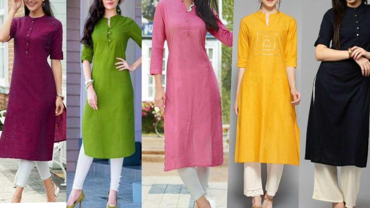 50 Colour Combination Ideas For Kurtis With White Plazzo Leggings Pants Trousers Youtube